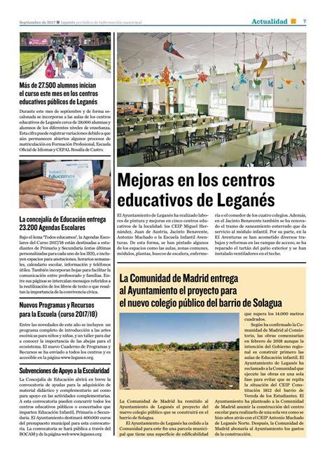 Leganés, periódico de información municipal. Número 10 ...