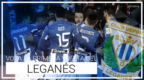 Leganés: Valora la primera vuelta del Leganés   Marca.com