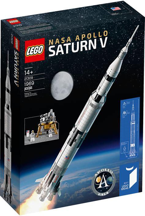 LEGO Ideas 21309   Saturn V Apollo LEGO NASA | Mattonito
