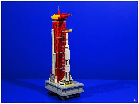 LEGO IDEAS   NASA Saturn V Launch Umbilical Tower