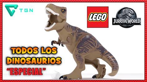 LEGO Jurassic World   Especial   Todos los Dinosaurios ...