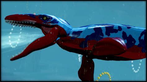 LEGO Jurassic World   WATER DINO! CUSTOM DINOSAURS!   YouTube