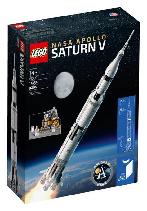 Lego s new NASA Saturn V rocket kit will stand more than 3 ...