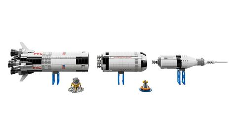 LEGO's New Saturn V Rocket Set Is A Meter Tall Masterpiece ...