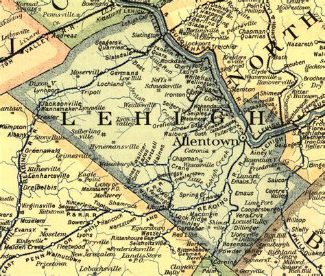 Lehigh County Pennsylvania Railroad Stations