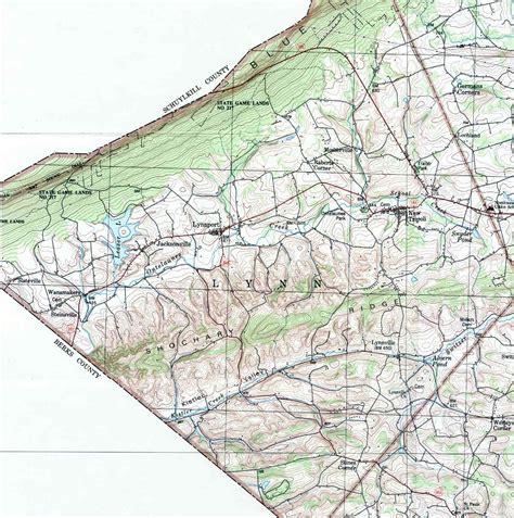 Lehigh County Pennsylvania Township Maps