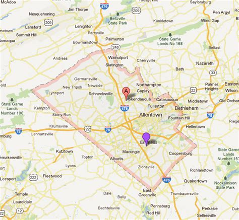 Lehigh County Real Estate | Lehigh, Map, County