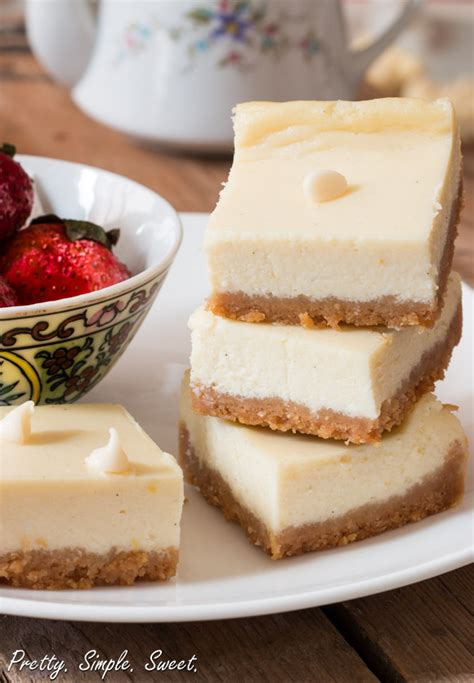Lemon White Chocolate Cheesecake | Pretty. Simple. Sweet.