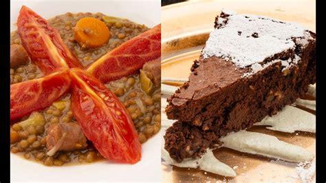 Lentejas con txistorra   Bizcocho de chocolate   Karlos ...