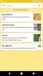 LEO Wörterbuch – Apps bei Google Play
