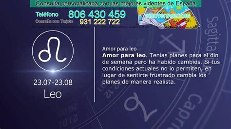 Leo y su horóscopo diario gratis para hoy jueves 06 de ...