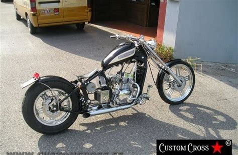 Leonart Spyder 125 Bobber by Custom and Cross | Harley ...