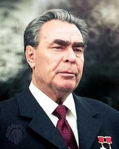 Leonid Brezhnev, former political leader of the USSR, was ...