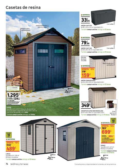 Leroy Merlín catálogo 2018: casetas de exterior | iMuebles