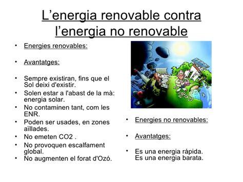 Les energies renovables/Las energías renovables/The ...