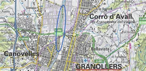 Les Franqueses Del Valles Mapa   SEONegativo.com
