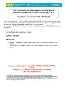 Les Franqueses: DISSENY I MODIFICACIÓ DE PLÀNOLS EN 2D I 3D