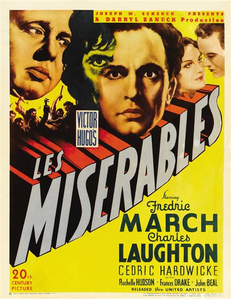 Les Miserables  1935  – Fredric March, Charles Laughton ...
