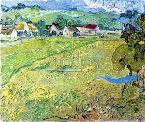 Les Vessenots, Auvers  de Van Gogh, réplica al óleo del ...