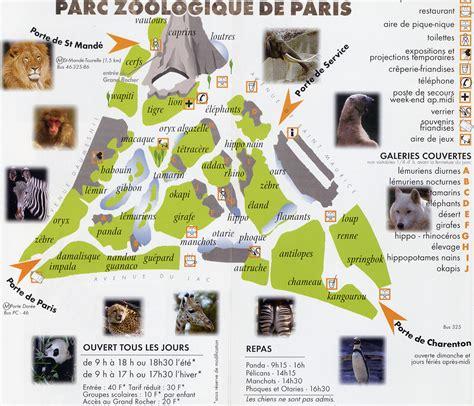 Les Zoos dans le Monde   Parc Zoologique de Paris