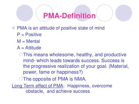 Lesson 7 the power of positive mental attitude  ppma