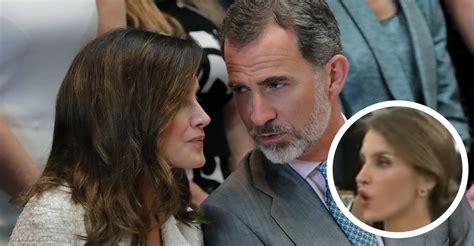 """Letizia le dijo """"jódete"""" a Felipe en su cara y a la vista ..."""