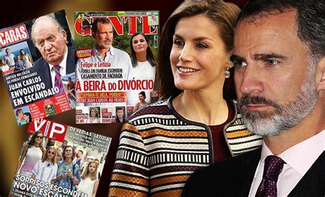 Letizia y Felipe VI al borde del divorcio según la prensa ...
