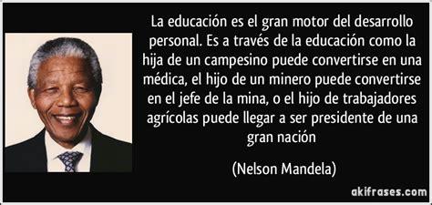 Letr@herida: Una cita de Nelson Mandela sobre la educación