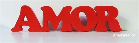 Letras 3d AMOR vermelha   Amora Festas   Elo7