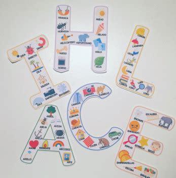 Letras de abecedario español / Letters alphabet Spanish ...