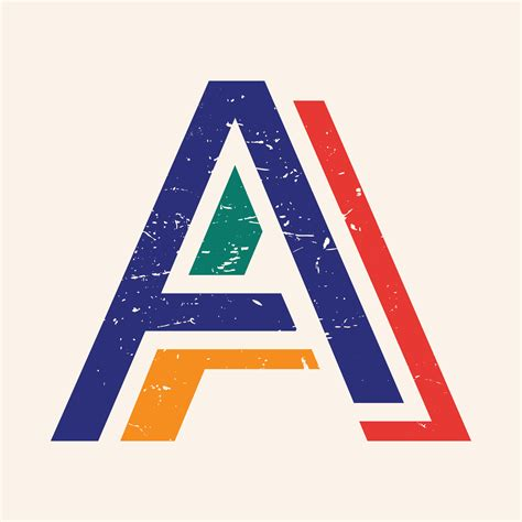 Letter A typography   Download Free Vectors, Clipart ...