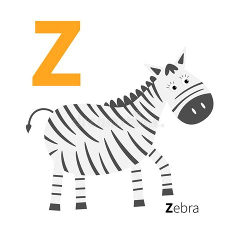 Letter Zoo Alphabet. English Abc With Animals Education ...