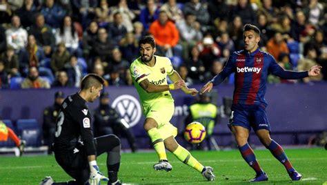 Levante   Barça: La Liga Santander, fútbol en directo hoy
