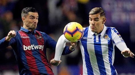 Levante   Real Sociedad de fútbol: la Liga Santander, hoy ...