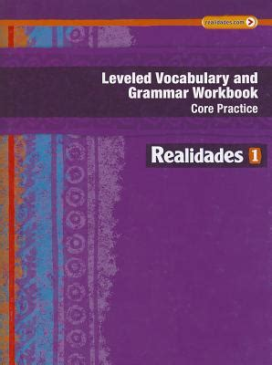 Leveled Vocabulary and Grammar Workbook: Guided Practice ...