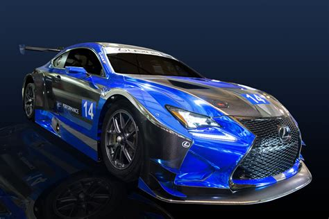 Lexus F Performance Racing to race RC F GT3 in 2016 ...