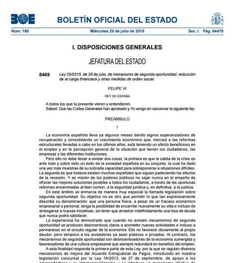 Ley de la Segunda Oportunidad   Abogados Valencia
