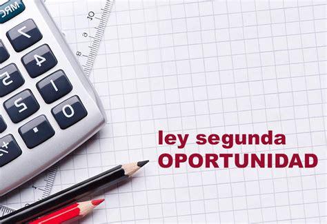 Ley de la Segunda Oportunidad para Personas Físicas y ...