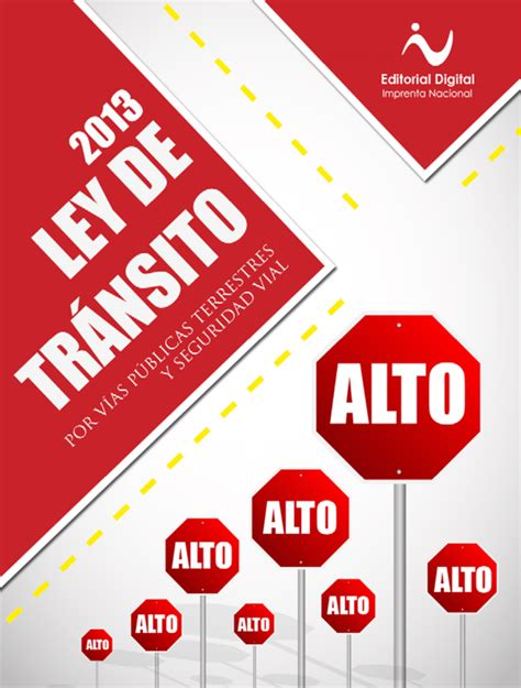 ley de tránsito por vías públicas terrestres y seguridad vial