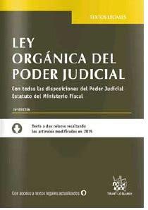LEY ORGÁNICA DEL PODER JUDICIAL 19ª ED. 2016 | JUAN ...