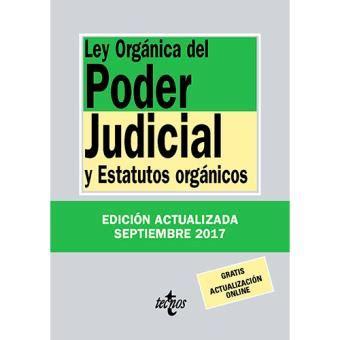 Ley orgánica del poder judicial    5% en libros | FNAC