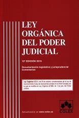 Ley Orgánica del Poder Judicial, isbn: 9788483424056. Siro ...
