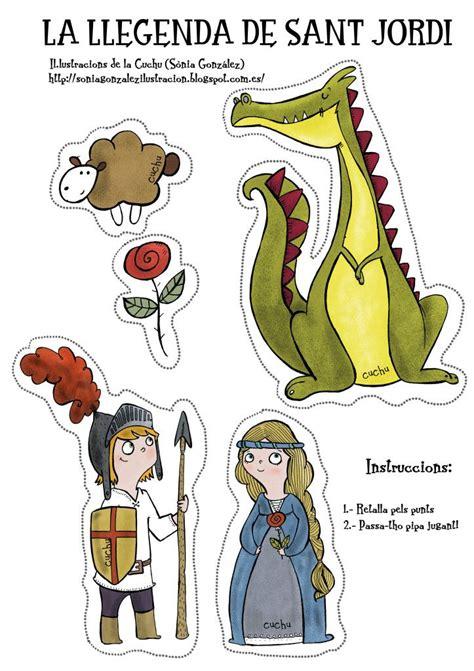 Leyenda de Sant Jordi descargable | puppets of all kinds ...
