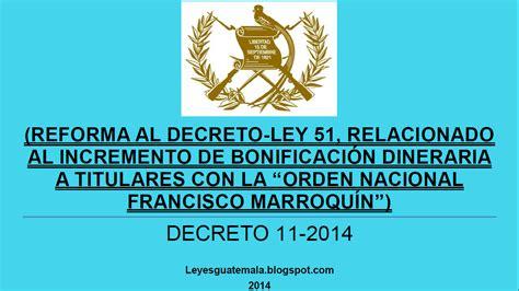 Leyes, acuerdos y temas de Guatemala: Decreto 11 2014 ...