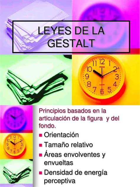 Leyes de La Gestalt | Perspectiva  Gráfica  | Percepción
