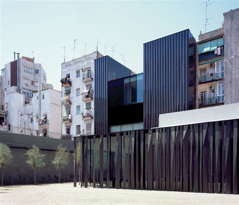 Library and Senior Citizens  Centre by RCR Arquitectes ...