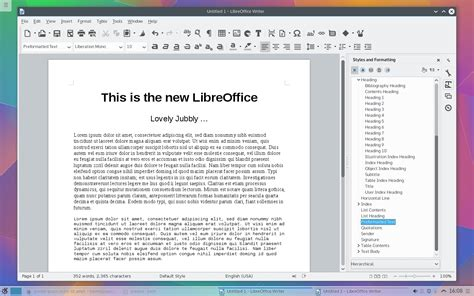 LibreOffice Free Download V5.0.1   Open Source Office ...