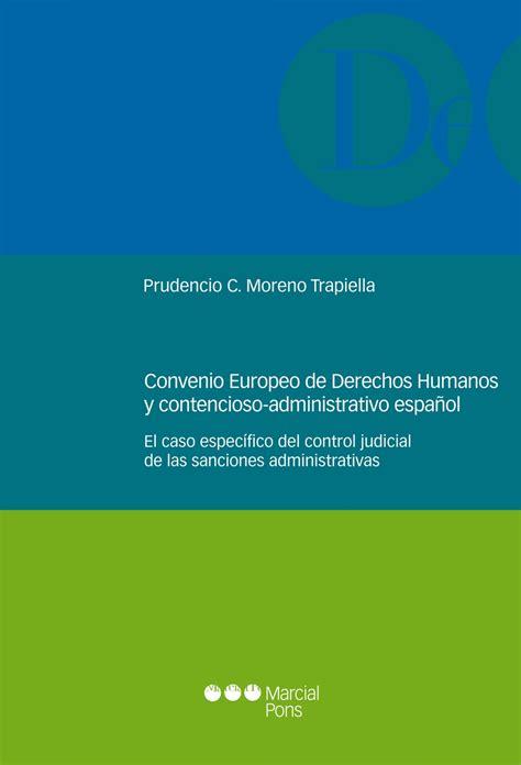 Librería Dykinson   Convenio Europeo de Derechos Humanos y ...