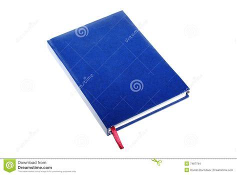 Libro azul aislado foto de archivo. Imagen de información ...