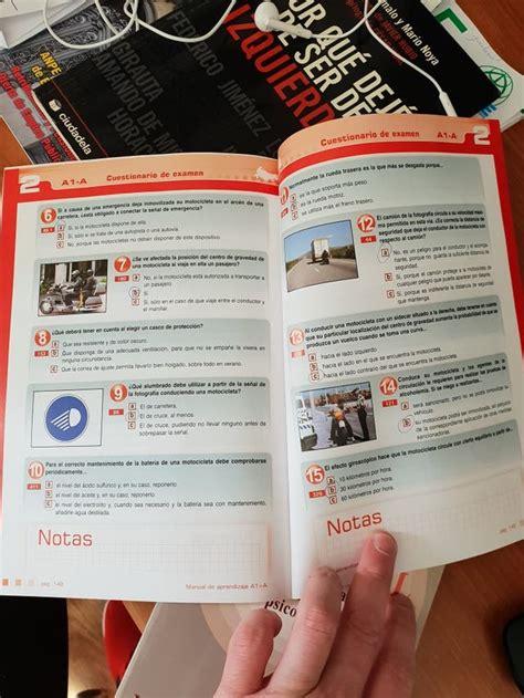 Libro carnet de moto A y A1 de segunda mano por 5 € en ...